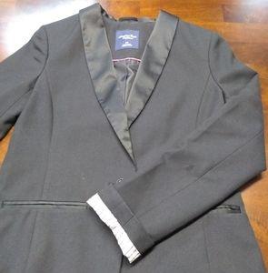 American Eagle Women's Sz S/P Black Blazer